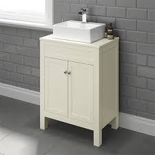 model cbu2 600mm melbourne clotted cream countertop unit basin countertop basin units