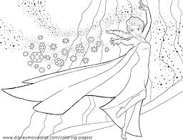 Disney Princess Coloring Pages Frozen Elsa And Anna Free Printable
