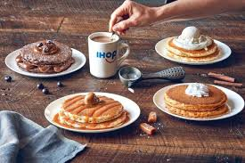 just ahead of national coffee day ihop introduces new limited time latte lover s pancakes menu which draws inspiration from the morning beverages as well