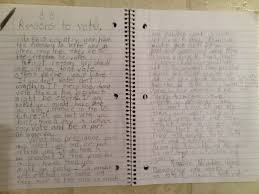 "vote essay essay on voting gxart reasons to vote a ""persuasive  reasons to vote a ""persuasive essay"" written by a year old reasons to vote"
