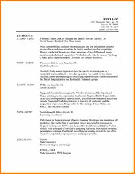 Janitorial Resume Sample New Gallery Of 4 Social Worker Resume