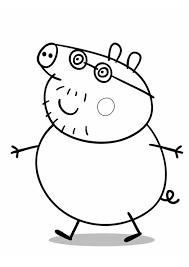 6 Peppa Pig Kleurplaat 72296 Kayra Examples Inside Pepa De Big