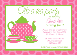 Kitchen Tea Party Invitation Tea Party Invitations Theruntimecom