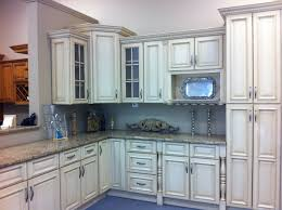 Glazed Grey Kitchen Cabinets Vintage Cream Cabinets For Cabinets