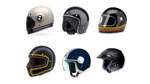 vintage style motorcycle helmets custom bike helmets columnm