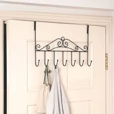 Behind The Door Coat Rack 100PC Coat Clothes Hat Bag Towel Over Door Bathroom Hanger Hanging 30