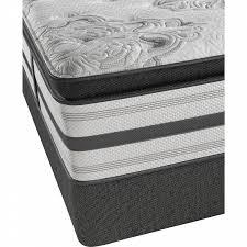 beautyrest mattress. Beautyrest Platinum Hailey Plush Pillow Top King Mattress S