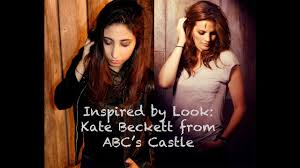 inspired by look kate beckett from abc s castle