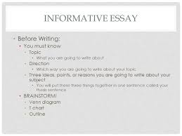 th english lit comp informative essay compare contrast ppt  5 informative