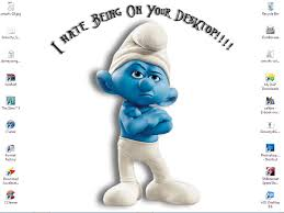 Smurf Quotes Fascinating Updated My New Desktop Starring Grouchy Smurf By Buubaby48 On
