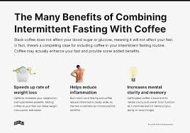 Caffeine can temporarily speed metabolism and potentially take. Intermittent Fasting And Coffee Does Coffee Break A Fast Levels