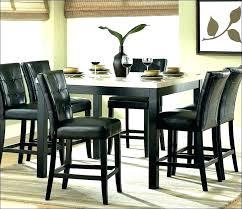9 piece pub dining table sets round set square