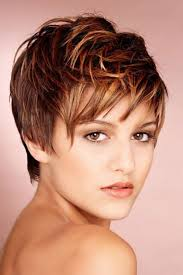 Hair Style With Highlights heres a cute pixie cut hairstyle with auburn hair color with 7996 by wearticles.com