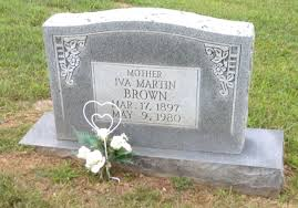 "Iva ""Ivy"" Boyd Brown (1897-1980) - Find A Grave Memorial"