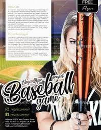 Free Baseball Flyer Template Free Baseball Flyer Template Psdflyer Co