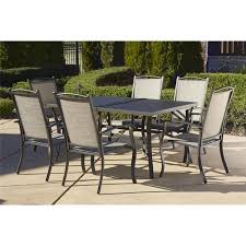 green wrought iron 7 piece action patio dining set. cosco outdoor 7-piece serene ridge aluminum patio dining set, dark brown green wrought iron 7 piece action set u