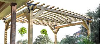 6 free pergola plans plus pavilions