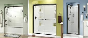frameless sliding shower door oil rubbed bronze bronze shower door guide header frameless sliding shower door frameless sliding shower door