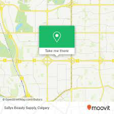 how to get to sallys beauty supply in