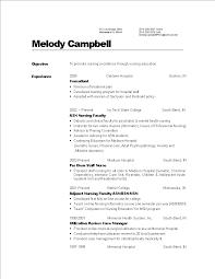 Professional Nursing Resume Templates At Allbusinesstemplatescom