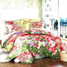 lauren conrad quilt rose garden comforter vintage fl duvet covers flower cover red spring leaf