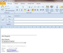 Generating Outlook 2010 2013 Signature Using Ad Information