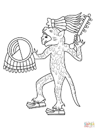 Small Picture Aztec art coloring pages Free Coloring Pages