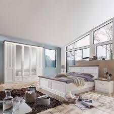Landhaus Schlafzimmer Tiscoria In Weiß Grau Pharao24de