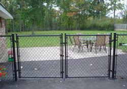 black chain link fence gate. Interesting Fence Black ChainLink Fence U0026 Gate By City Of Buffalo  To Chain Link S