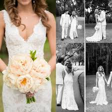 discount wedding dress stores. 2017 cheap full lace wedding dresses deep v neck backless sleeveless mermaid chapel train 2016 vintage summer bridal gowns plus size discount dress stores l