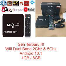 Android TV BOX MXQ PRO 5G 1GB / 8GB Smart TV 4K ULTRA HD OTT