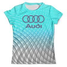 """Футболка с полной запечаткой (мужская) """"Авто <b>Audi</b>"""" #2517009 ..."""