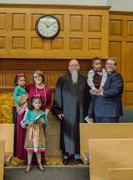 Adoption Celebration: Arianna Ray Huff, Elijah Dean Huff, Kenzie Grace Huff  - INUMC