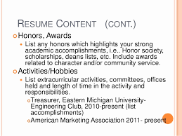 Interest And Hobbies For Resume Samples Inspirational M A Creative