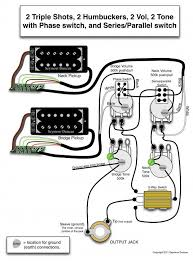 les paul with phase switch and series parallel switch treble Parallel Pickup Wiring Parallel Pickup Wiring #70 series parallel pickup wiring