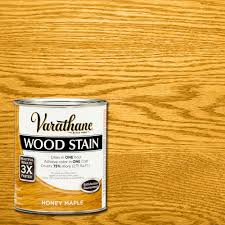Varathane 1 Qt 3x Honey Maple Premium Wood Stain Case Of