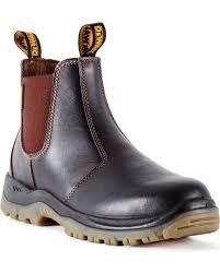zoomed image dewalt men s nitrogen work boots steel toe dark brown
