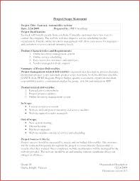 Simple Statement Of Work Template Statement Of Work Template Consulting Bootimar Co