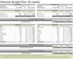 Personal Weekly Budget Templates Best Photos Of Personal Weekly Budget Excel Bi Weekly