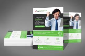 flyer companies business company flyer template