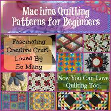 Machine Quilting Patterns For Beginners - You Can Learn To Quilt! & machine quilting patterns for Beginners Adamdwight.com
