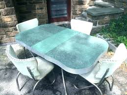 1950s formica kitchen table and chairs kitchen table sets kitchen tables green and chrome retro kitchen