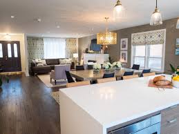 Living Room Kitchen Color Photos Property Brothers Hgtv