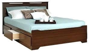platform bed walmart. Queen Platform Bed Storage Coal Harbor With Headboard In Espresso . Walmart E