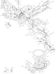 Dewalt dw718 type 1 parts master tool repair