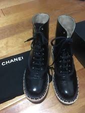 chanel quilted combat boots. chanel combat boots size 37 perfect! chanel quilted combat boots