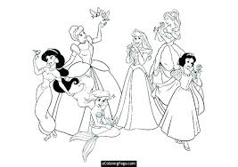 Free Printable Disney Princess Colouring Pages Coloring Christmas Co