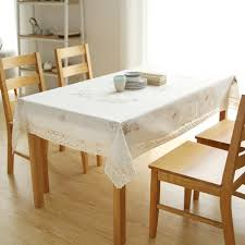 wishing tree cotton linen embroidered stitch tablecloth traditional craft table cloth round table square tablecloth cover