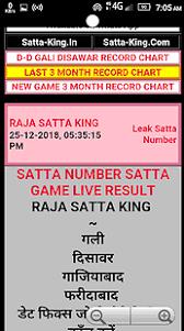 Delhi Darbar Satta Chart 35 Logical Delhi Satta Number Chart