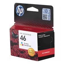 <b>Картридж HP</b> CZ638AE <b>№ 46</b> цветной для Deskjet IA 2520hc ...